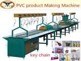 Machine de fabrication automatique de PVC de chaîne molle de trousseau de clés