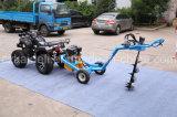 Hot Selling ATV Post Hole Digger con 5 diferentes tamaños de barrena para la opción