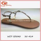 Mode d'été Tassel Simple Mesdames les sandales de patin