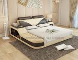 Base de los muebles del dormitorio del modelo nuevo Lb8817 con el apoyo para la cabeza ajustable del almacenaje