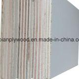 Contre-plaqué de finition de mélamine de couvre-tapis de la colle E1 avec le faisceau de peuplier
