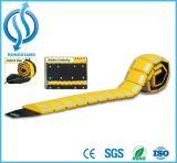 Hotsale Amarelo de boa qualidade (preto) portátil uma forma Lomba