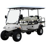 Electric Lifted Car / Cart / Buggy, Sightseeing Car, utilitaire (DEL2042D2Z, 6Seater)