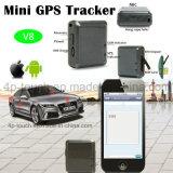 Tempo de espera do dispositivo de localização GPS mini barato para Pet/pessoa V8