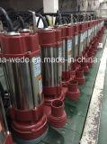 Pompa ad acqua sommergibile dell'acciaio inossidabile, pompa sporca della STAZIONE TERMALE della pompa