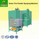 녹색 고무 타이어 또는 타이어 힘 살포 기계