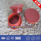 Blocs solides de revêtement en PVC De plastique de pièce de moteur d'OEM/chapeau pour les pieds et le trou de présidence