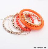 Form-mehrschichtiger Kristall bördelt Armband-Armband-Schmucksache-Zubehör