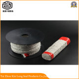 Керамические волокна упаковка; керамические волокна квадратных веревки/керамическое уплотнение сальника