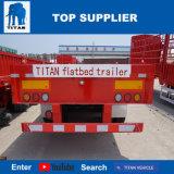 Behälter-Flachbettschlußteile des Titan-Fahrzeug-60ton 3 Wellen