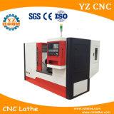 CNC de 6 estaciones que da vuelta a la máquina inclinada de la base barato que muele