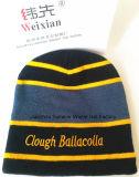 Beanie certifié de chapeau tricoté par usine