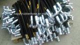 La haute pression Triple tresse métallique en acier renforcé le flexible hydraulique