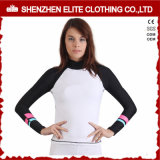 Women Surf Bjj Rash Guard para senhoras