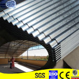 Großhandelsbillig galvanisiertes gewölbtes Stahlblech für Dach