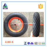 3.50-8 Wheelbarrow Wb6400のためのゴム製Air Wheel