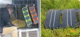 3-pliegues 6.4W Pocketpower Plegable Portátil USB Cargador Solar Sunpower con celda y laminación película ETFE (FSS-6.4F3).