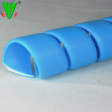 Le protecteur de flexible hydraulique de manchon de protection de flexible en caoutchouc en spirale