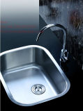 Bassin de cuisine d'acier inoxydable, bassin, acier inoxydable sous le bassin de cuisine simple de cuvette de support