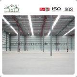 La logistica immagazzina, struttura d'acciaio flessibile (workshop/fabbrica/pianta)