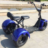 1000W60V Front Back Suspension New Citycoco Harlley Three Wheel Electric Scooter 또는 Cheap Electric Trike /E-Bicycle