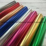 De holografische Hete het Stempelen Kleurrijke Folie van de Folie voor het Plastic Leer van het Document