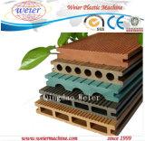 Plástico de madeira linha de produção recicl do perfil de WPC (SJ-65/132 SJ-51/105 SJ-80/156)