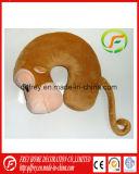 Hoofdkussen van het Kussen van de Hals van het Stuk speelgoed van Afrika het Dierlijke Gestreepte Reizende
