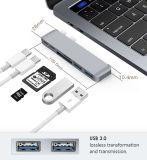 A fábrica Raio 3.0 Tipo sem fio C para a Índia Hub USB com liga de alumínio