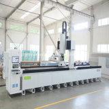 5 Eixo de Perfuração e fresadora CNC com sistema de corte