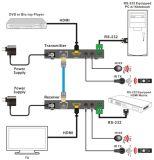 Poe 4kx2K를 가진 70m HDMI 증량제 1.4V Hdbase-T
