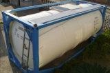 De in het groot 20FT Container van de Tanker van de Diesel van de Benzine van de Brandstof 3axle met Csc