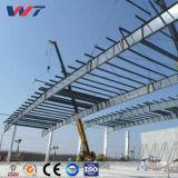 Magazzino prefabbricato di logistica del magazzino della struttura d'acciaio dell'indicatore luminoso di garanzia della qualità