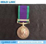 軍メダルバッジのカスタム金属のクラフト賞の名誉メダル
