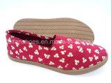 Для женщин ЭБУ системы впрыска Canvas обувь плоские комфорт Sneaker Pimps обувь (FZL822-11)