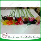 Proveedor de Yiwu Flores artificiales verdadero toque mini de espuma de lirio de agua