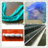 Berufsfischen bearbeitet Nylonsenkblei-Fischernetz