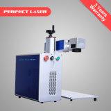 Низкая цена для настольных ПК портативные оптическое волокно лазерная маркировка печатной машины