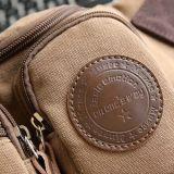 Sacchetto casuale del pacchetto della vita del raccoglitore della cinghia di corsa della tela di canapa degli uomini