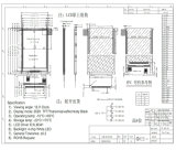 [2.4ينش] [قفغ] [240إكس320] مع جهاز تحكّم [إيلي9341تفت] [لكد] شارة