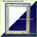 Cnc-maschinell bearbeitenblech-kundenspezifisches Aluminiumpanel für Eclectronic Einheiten