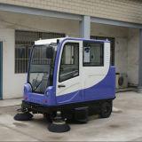 Электрический метельщик дороги с закрытой кабиной (KMN-E800LC)