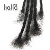 14インチの暗い色のかぎ針編みのアフリカのねじれた人間の毛髪Dreadlocks