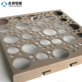 Het sorteerbare Gaten Geperforeerde Blad van het Aluminium