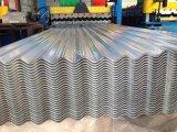 Strato rivestito ondulato del tetto di Az delle mattonelle di tetto del galvalume del piatto d'acciaio