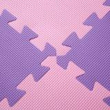 La gomma piuma non tossica della stuoia di puzzle di EVA del certificato del Ce copre di tegoli la stuoia lavabile