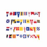 Heißer Verkauf 14*21cm 100 Land-Zeichenkette-Markierungsfahne