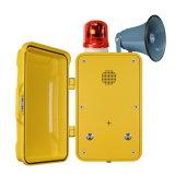耐候性がある電話は、防水電話、Emergecnyの産業電話にトンネルを掘る