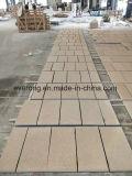 Природные G682 туманно/ржавыми желтого цвета гранитной плиткой/нарезка по размеру для создания проектов