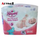 安い工場卸売価格の極度の乾燥したニースの使い捨て可能な赤ん坊のおむつ